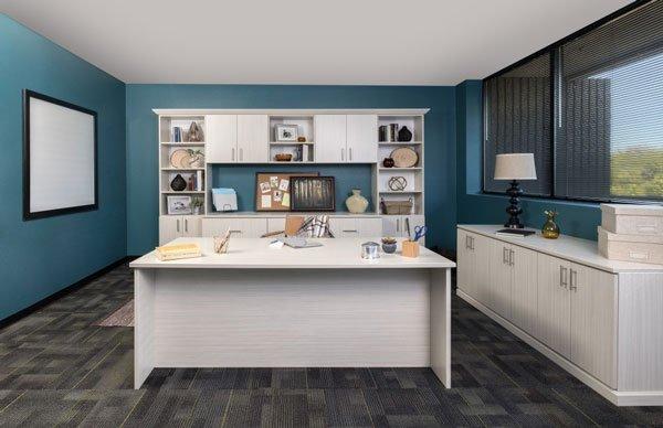 Arctic Custom Home Office
