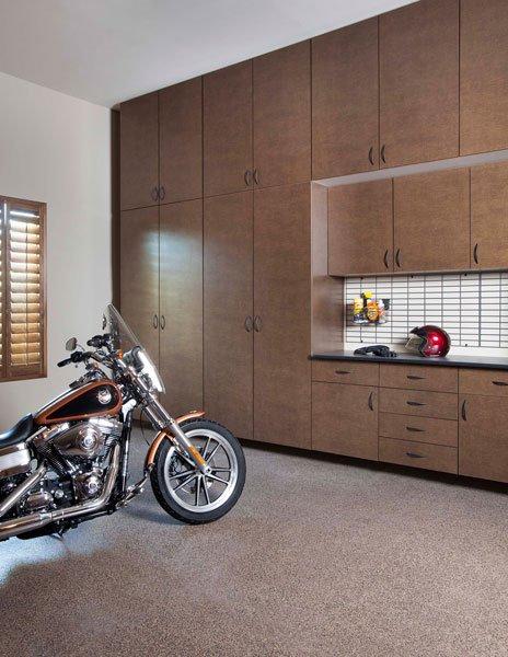 Bronze Garage Cabinets