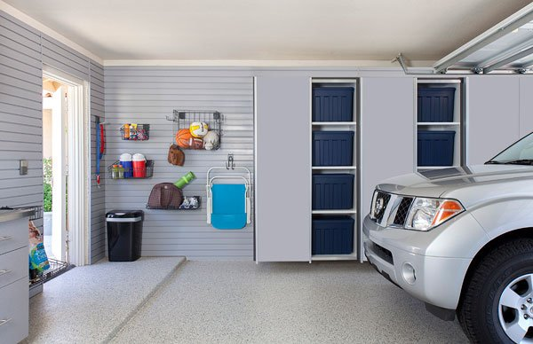 Slatwall Garage Organizers