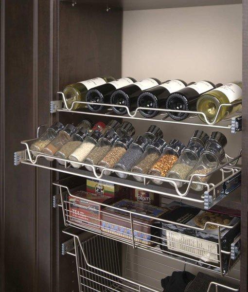 Kitchen Pantry Wine Rack