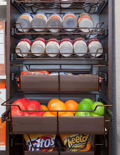 Kitchen Pantry Pullout Shelving
