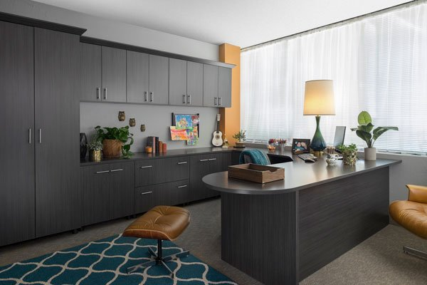 Licorice Home Office Cabinets