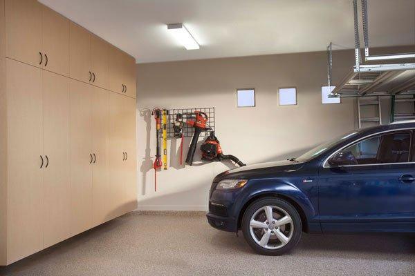 Maple Garage Cabinets
