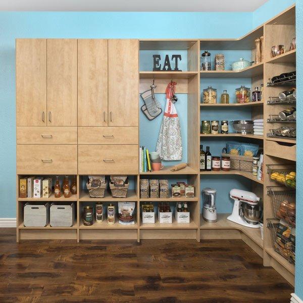 Secret Finish Kitchen Pantry