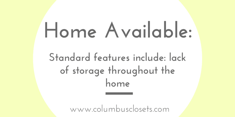 Home storage message