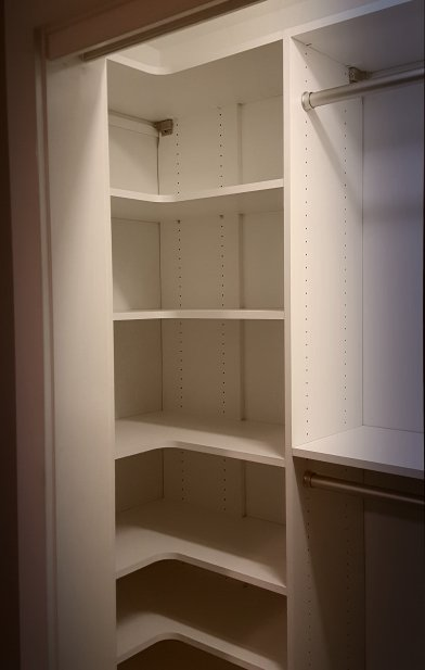 A Mini Diagram Of A Reach In Closet That Stores More And Also Functions  Better Overall! Storage Can Be Functional And Beautiful!