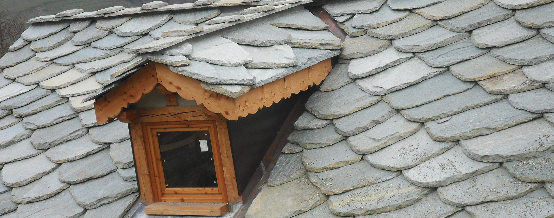tettoia in pietra