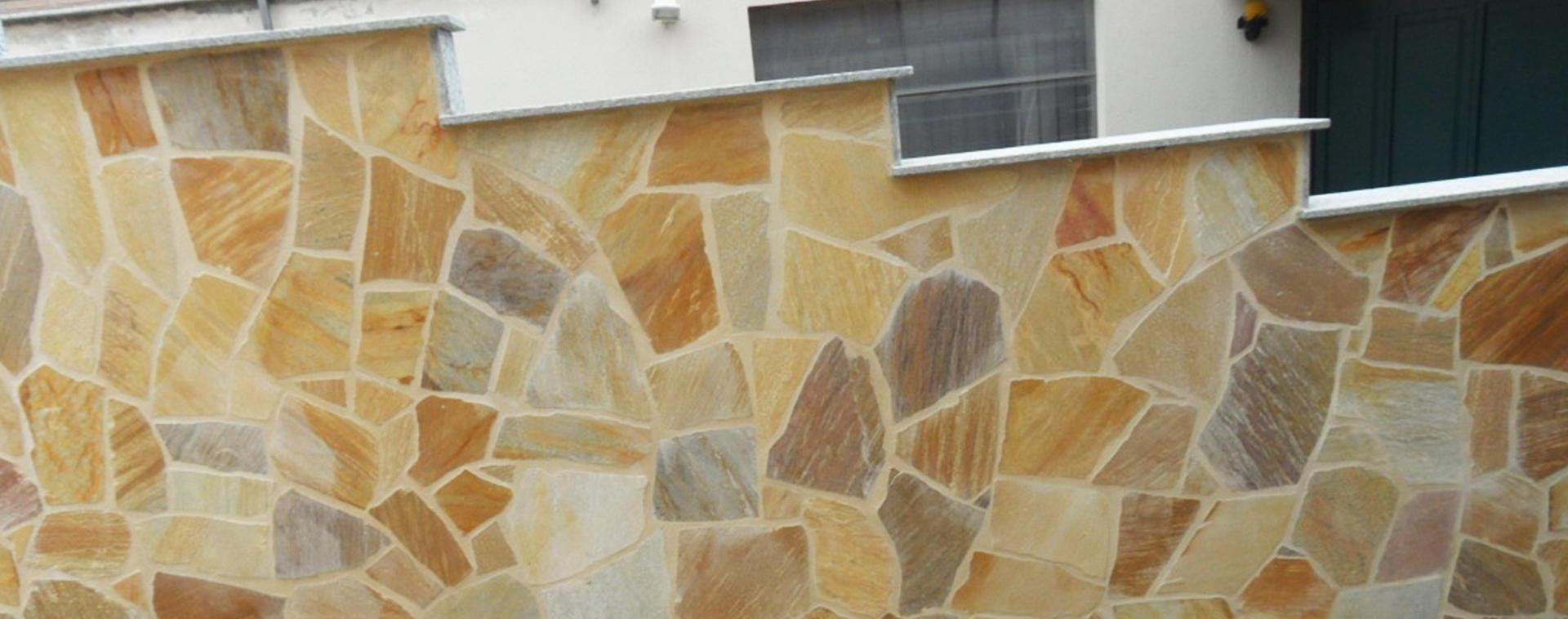 muretto in pietra
