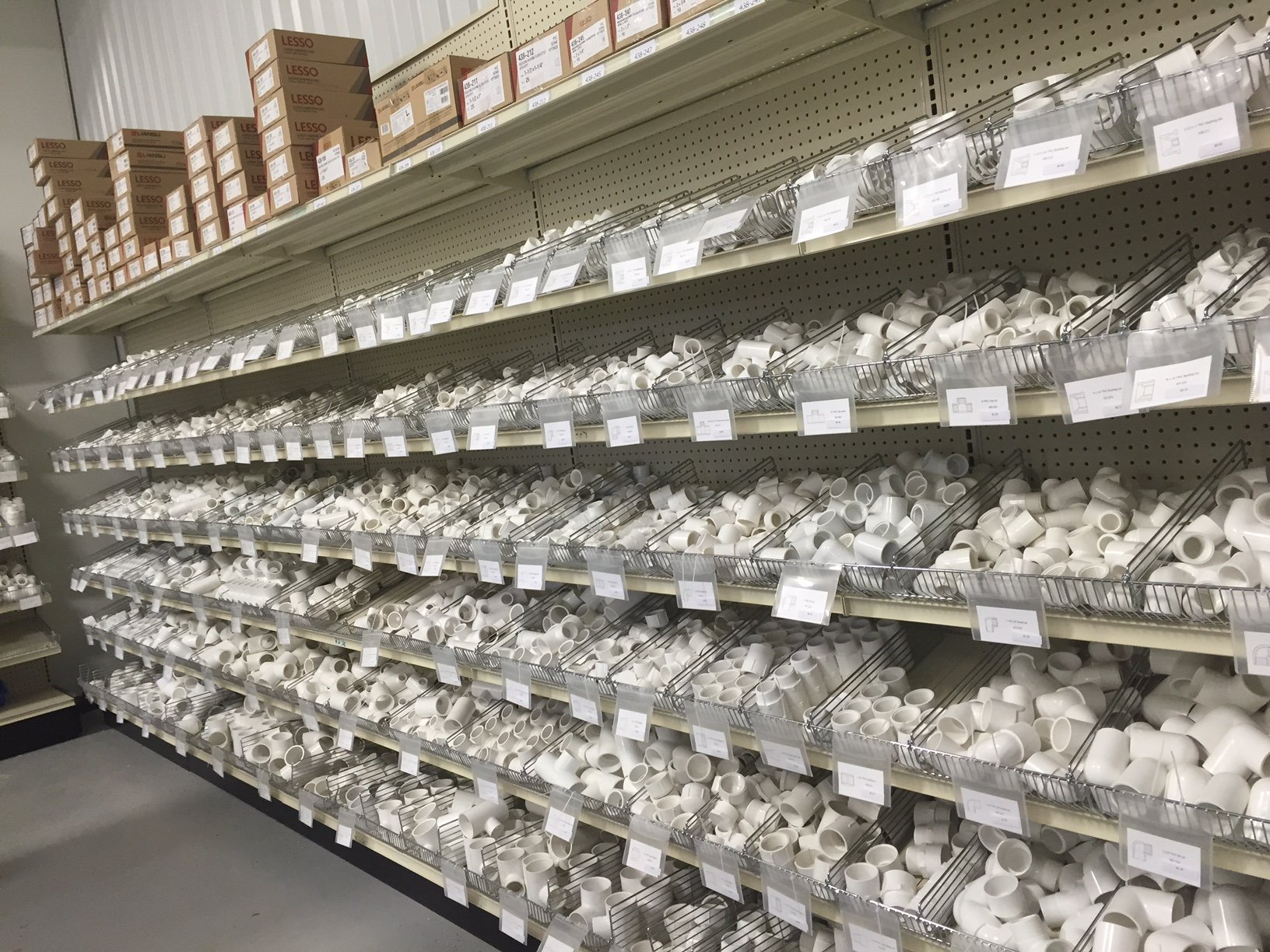 Pipe Fittings Pvc Pipe At Water Logistics Located In San