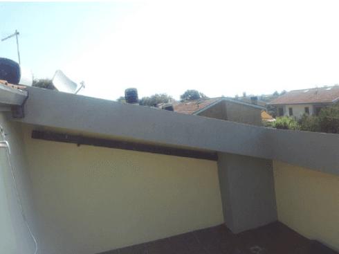 Altro particolare del tetto riparato