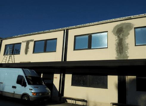 Riparazione tetti industriali