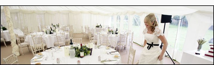 Marquee hire - Warwickshire, UK - Shakespeare Marquees - Weddings