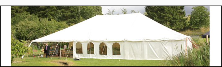 Marquee hire - Warwickshire, UK - Shakespeare Marquees - Private hire