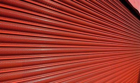 Fire-resisting roller shutter