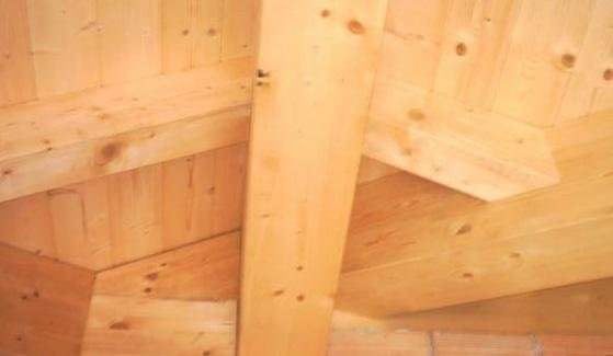 tetti in legno