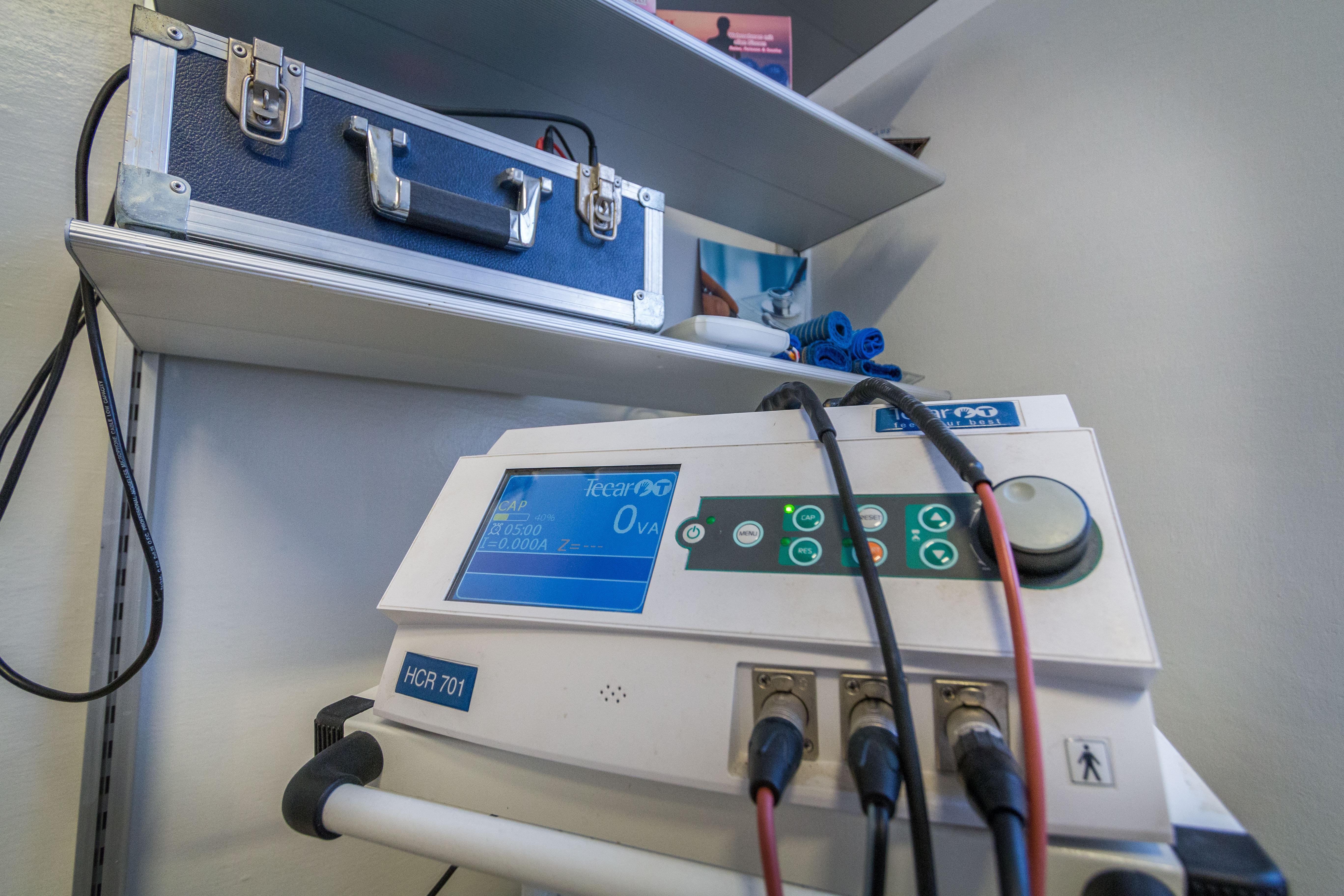 macchinario per la fisioterapia