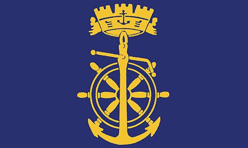 un logo di un'ancora