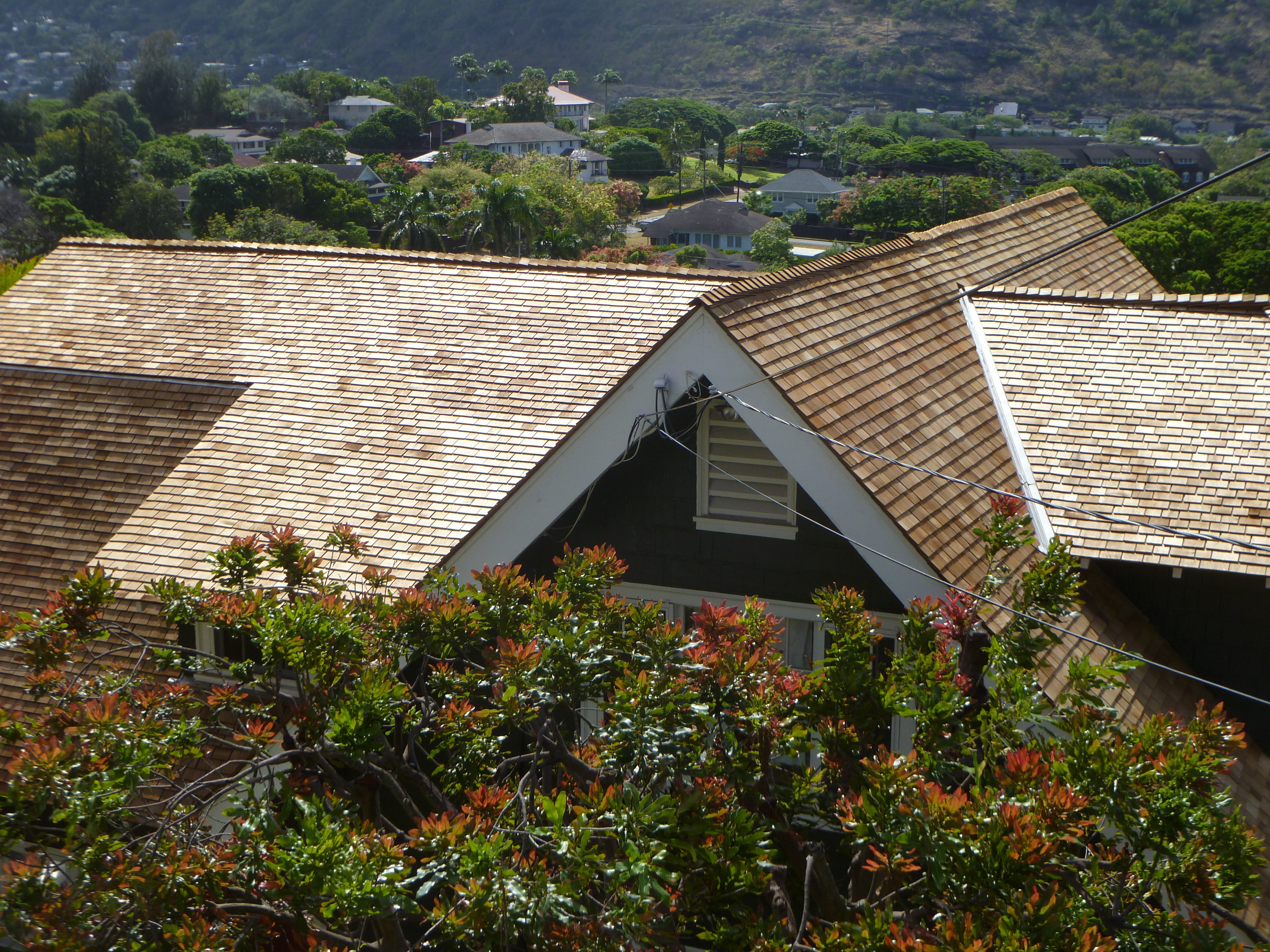 Residential roofing done by Rainbow Roof