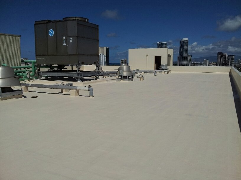 Commercial roofing in Honolulu