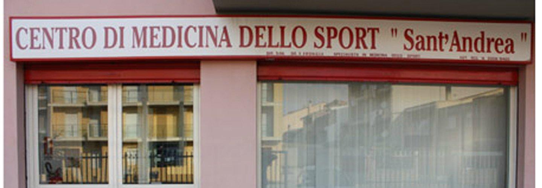 insegna centro di medicina dello sport