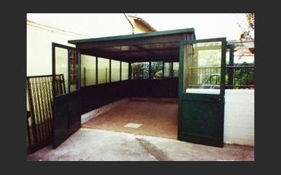 garage in alluminio su misura