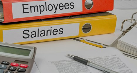 salary and employee files