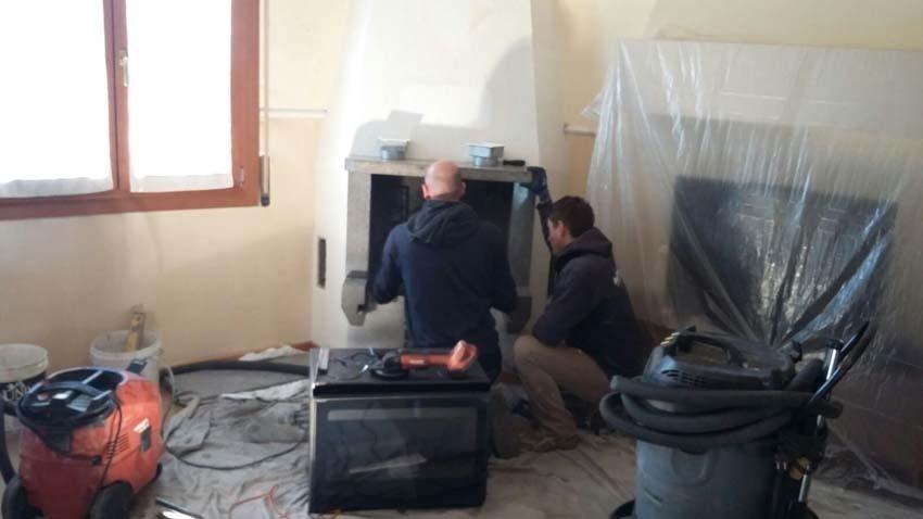 installazione e manutenzione camini e canne fumarie