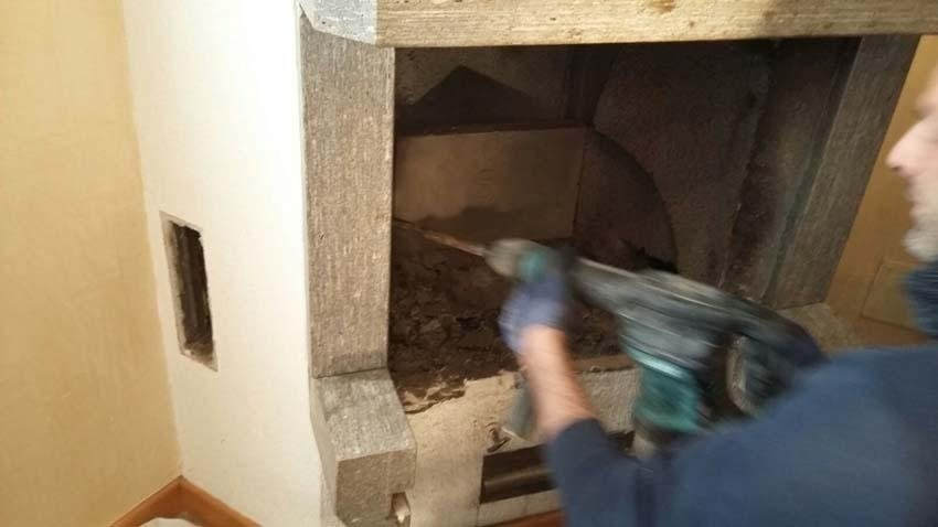 pulizia stufe a legna