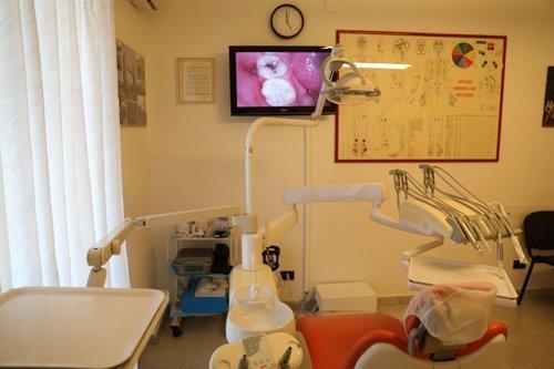 stanza delle visite dentistiche