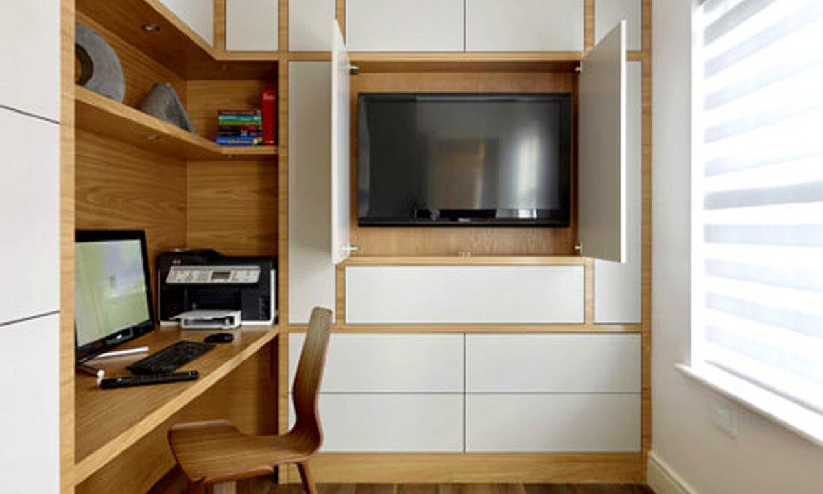 TV inside the unit