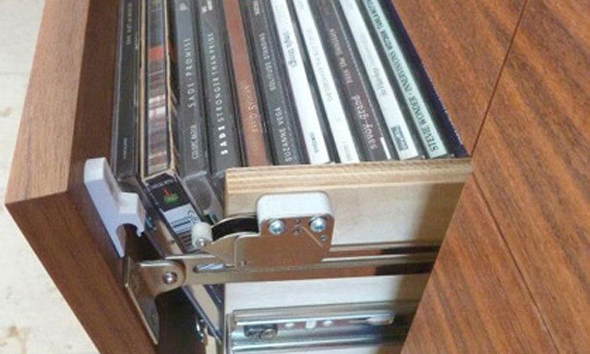 close up of CD unit