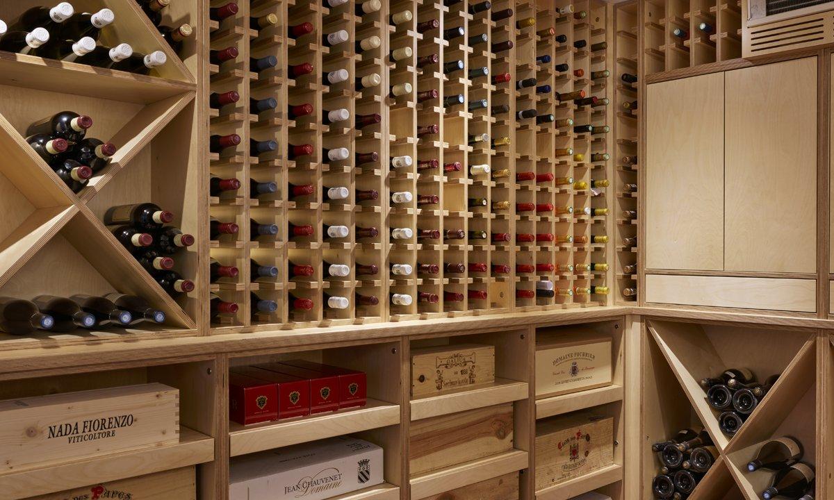 Large wine range