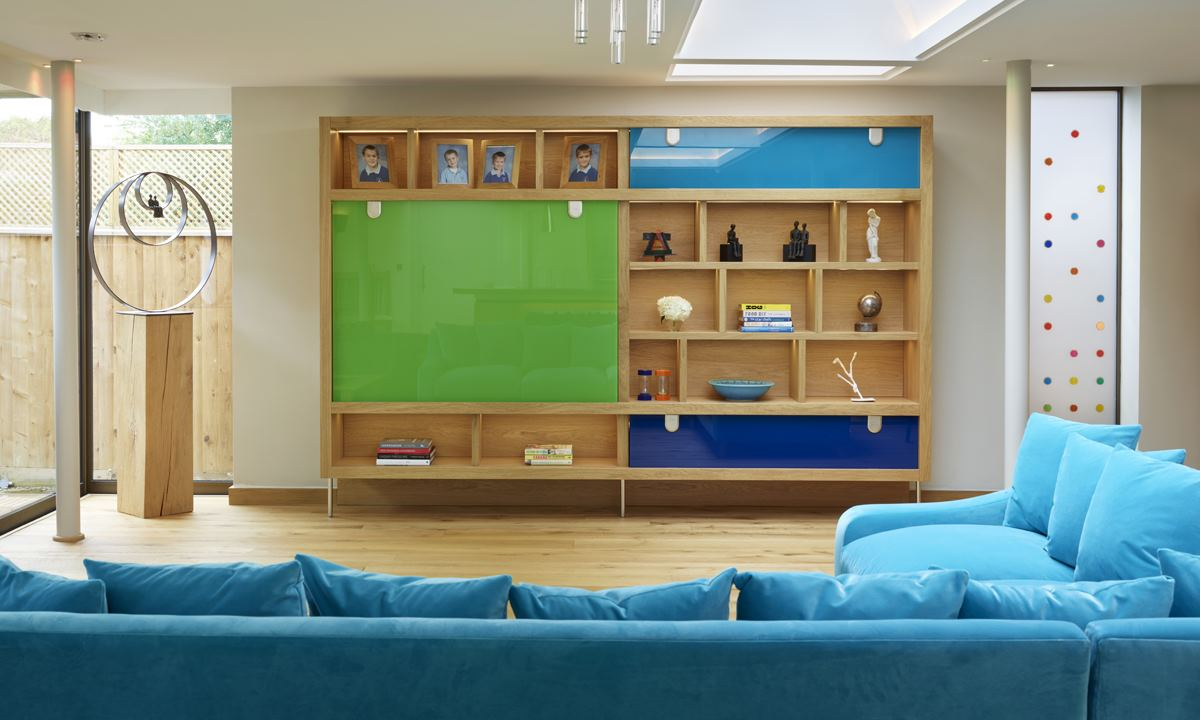 Fitted wall unit