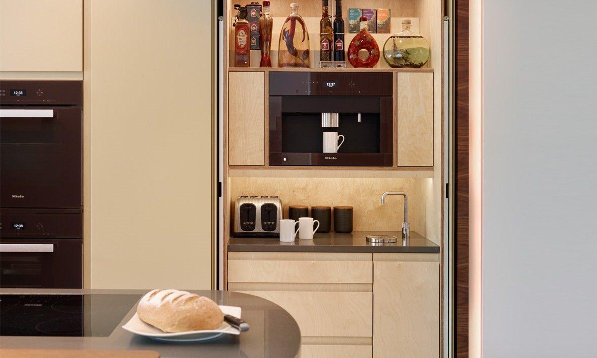 Hidden cupboard