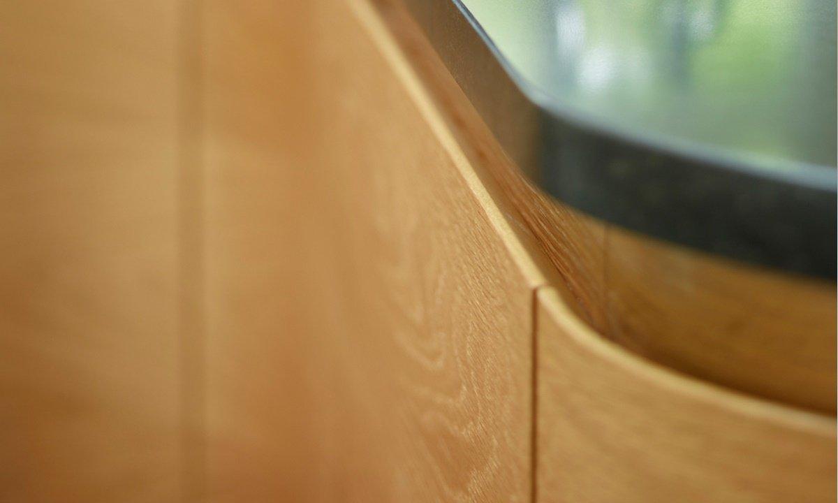 Close up of worktop
