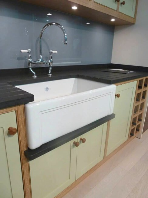 traditional kitchen sink