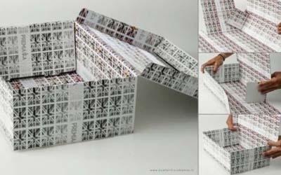 scatole con occhielli