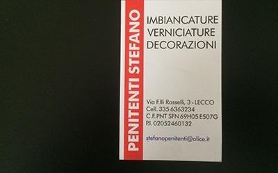 Biglietti da visita Lecco