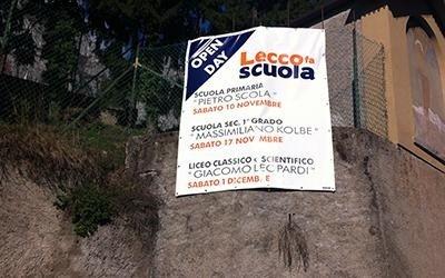 Striscioni pubblicitari Lecco