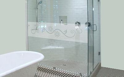 Vetrofanie per docce
