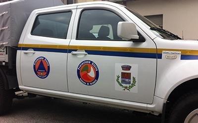 Grafica per auto protezione civile