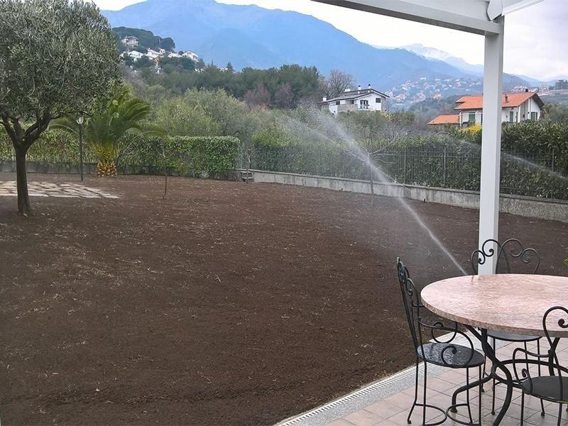 Irrigazione nuove aree seminate
