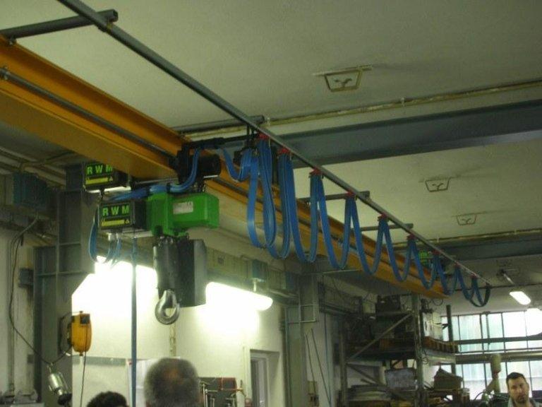 impianto monorotaia