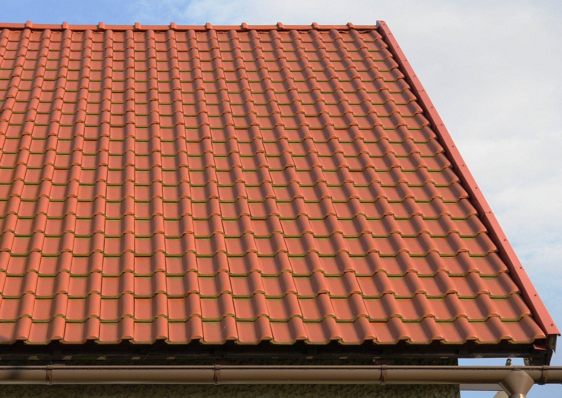 un tetto di tegole