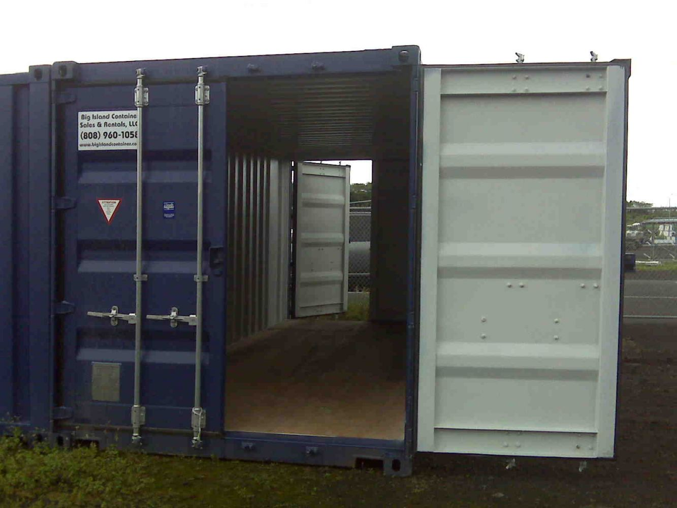 20' Container w/doors on both ends on Big Island, Hawaii