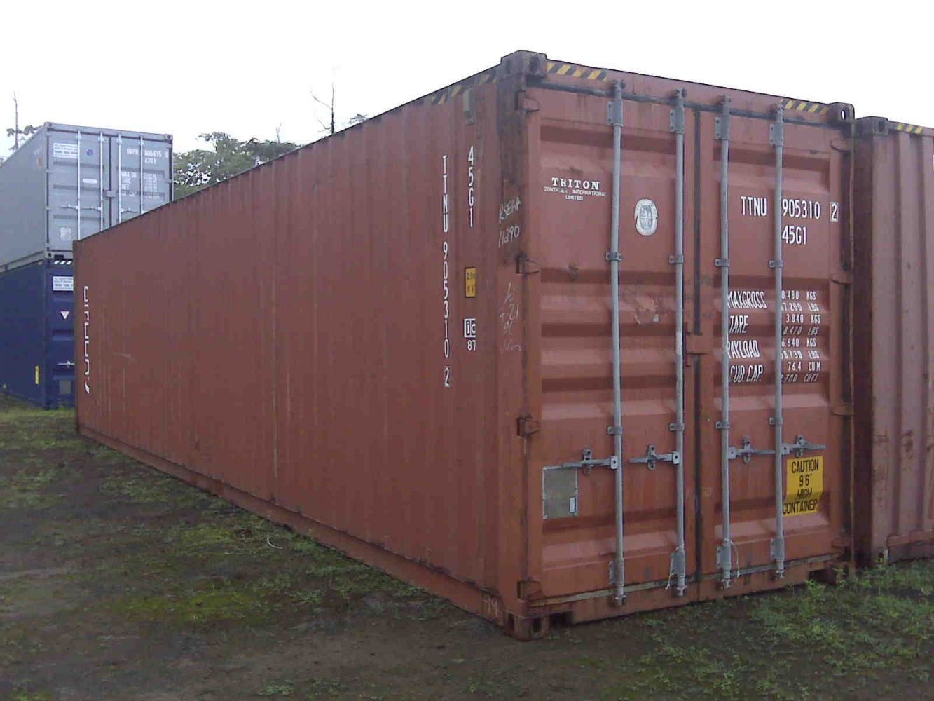 20' Used Container on Big Island, Hawaii