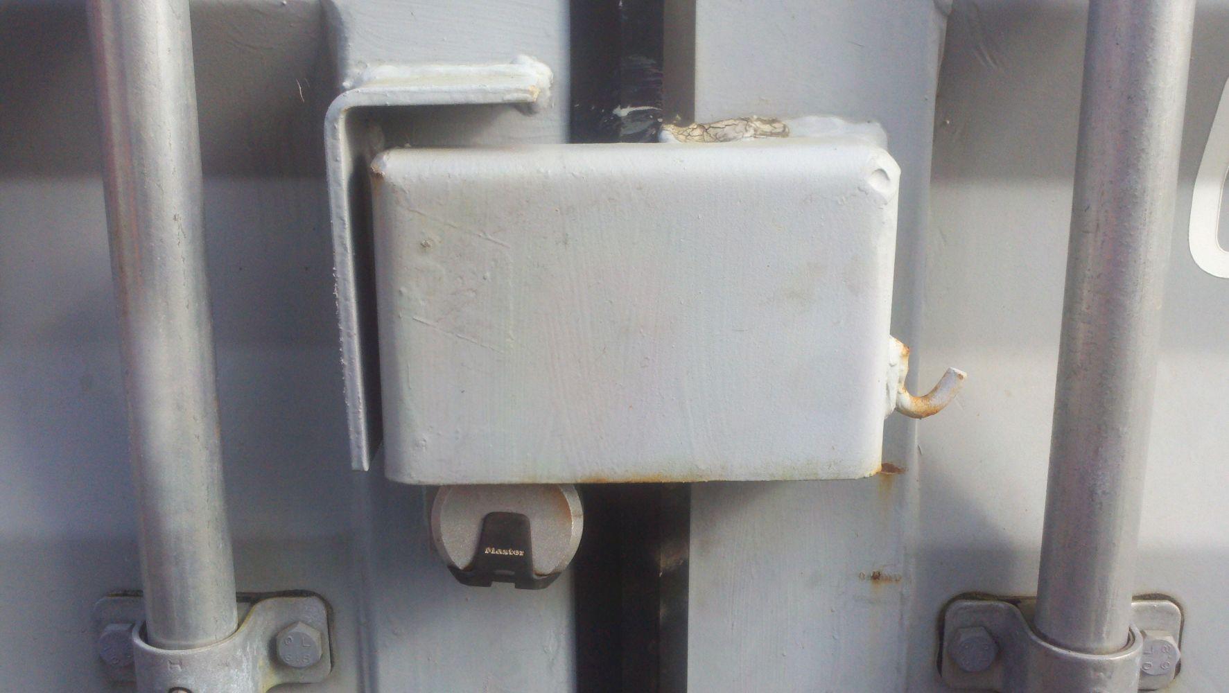 High Security Lockbox in Big Island, Hawaii