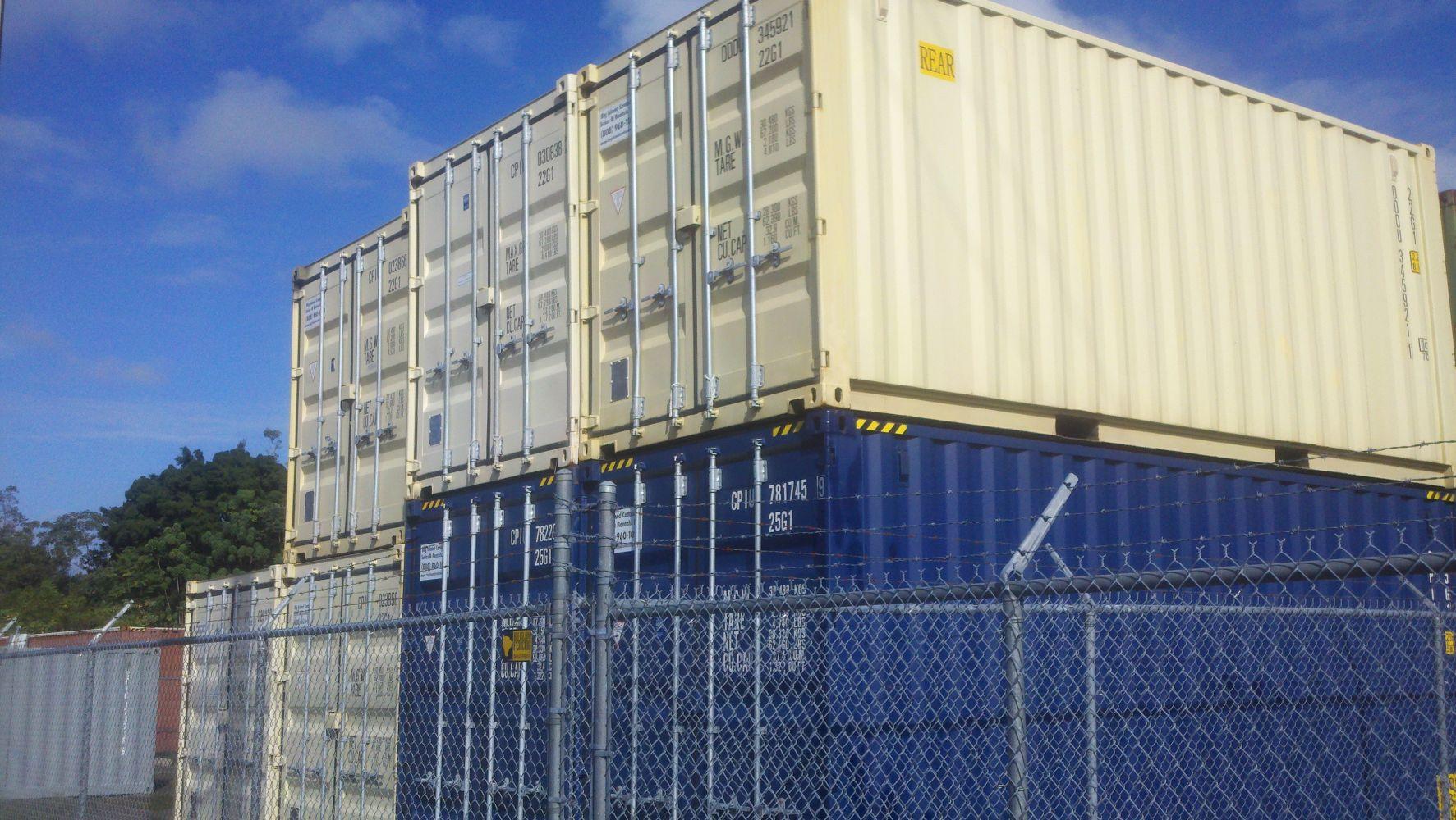 20' Containers on Big Island, Hawaii