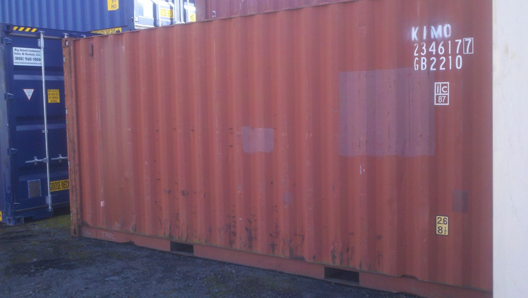 40' Used Container on Big Island, Hawaii