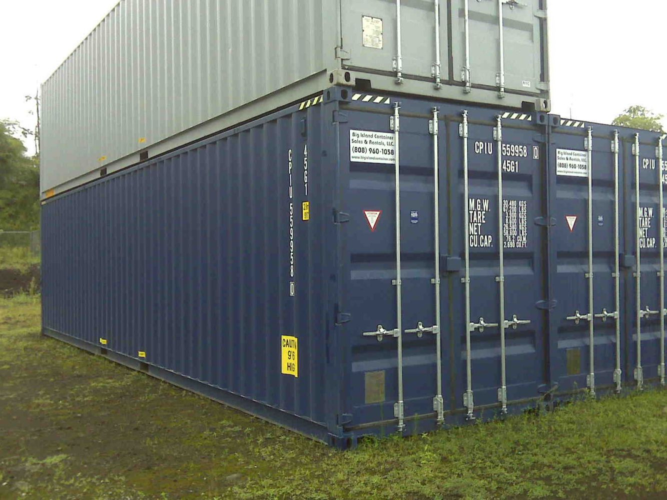 40' New Container on Big Island, Hawaii